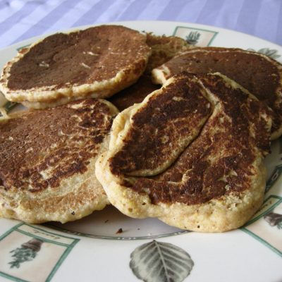 Cornmeal Wheat Pancakes