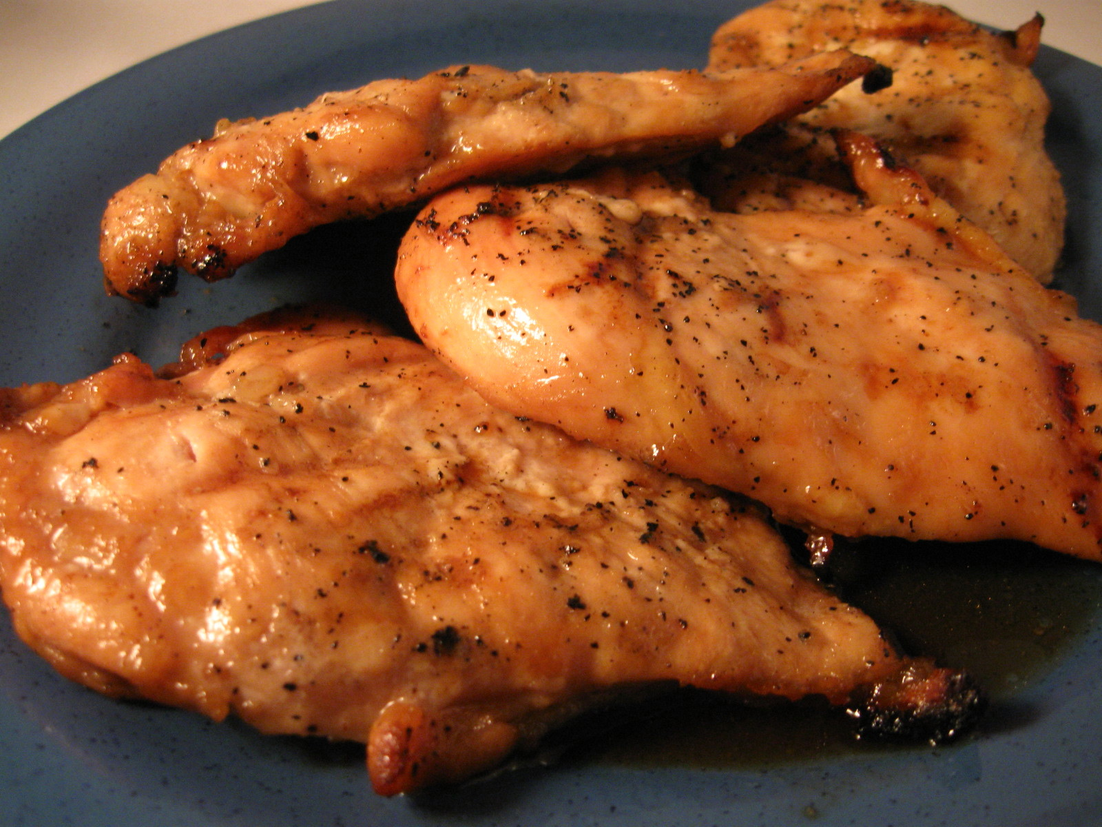 Grilled Maple Barbecue Chicken