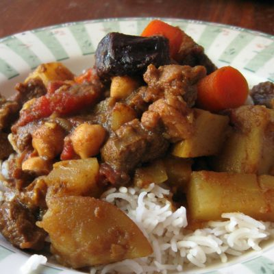 Marrakesh Lamb Stew