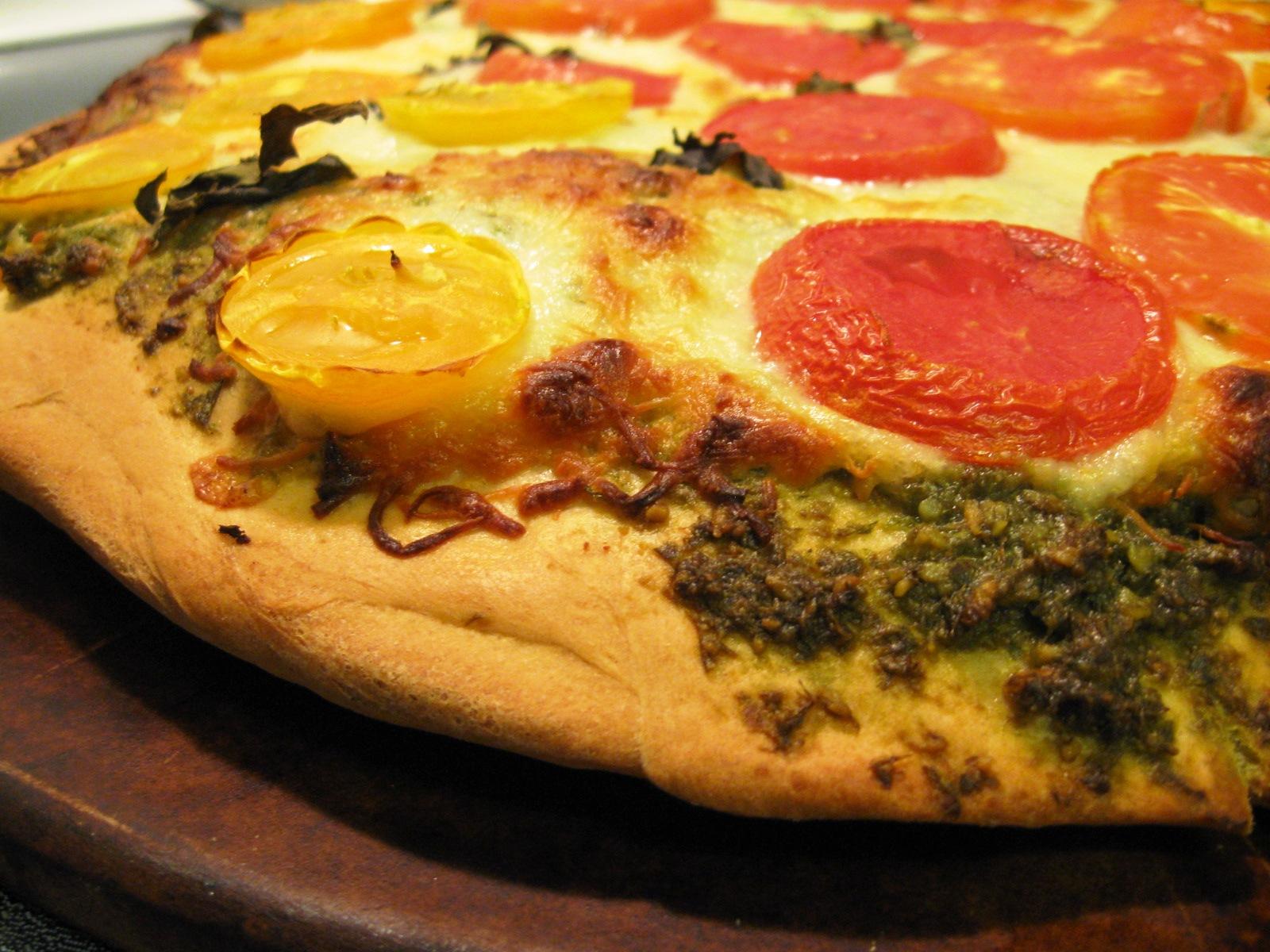 Summer Pesto Pizza