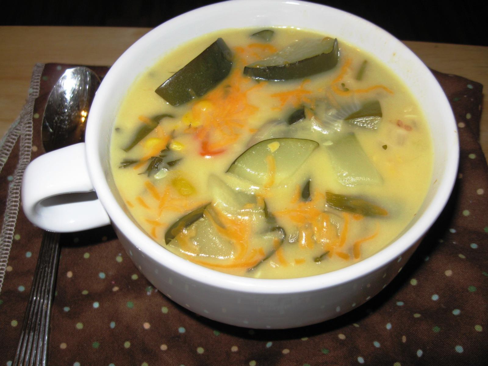 Zucchini Garden Chowder