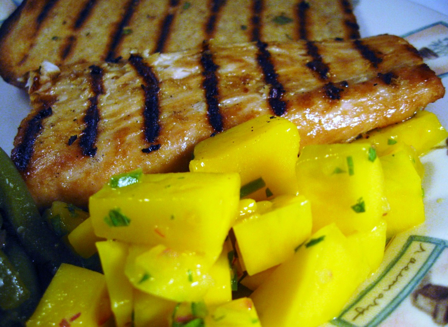 Teriyaki Mahi Mahi with Mango Salsa ...