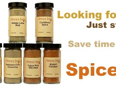 Spice Sets: The Perfect Gift!