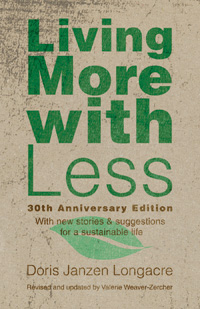 Living More with Less: A Book Review & A Challenge