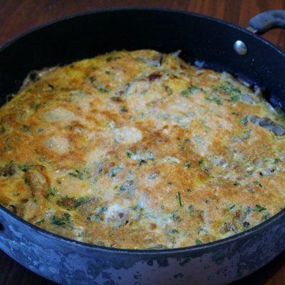 Artichoke Heart & Parmesan Frittata