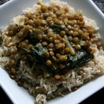 East Indian Chard and Lentils #SundaySupper