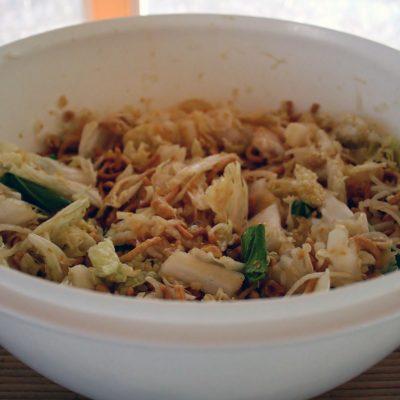 Chinese (Napa) Cabbage Salad