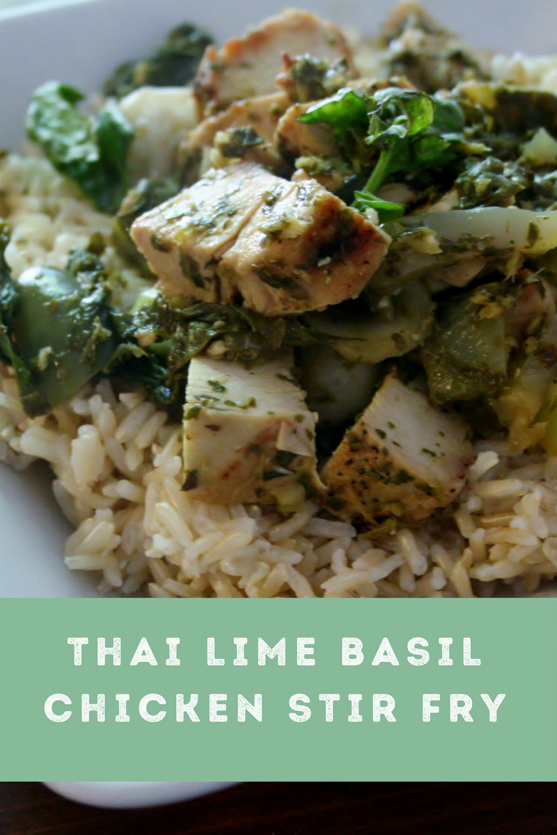 Thai lime basil chicken stir fry sundaysupper wholistic woman thai lime basil chicken stir fry sundaysupper recipes forumfinder Image collections