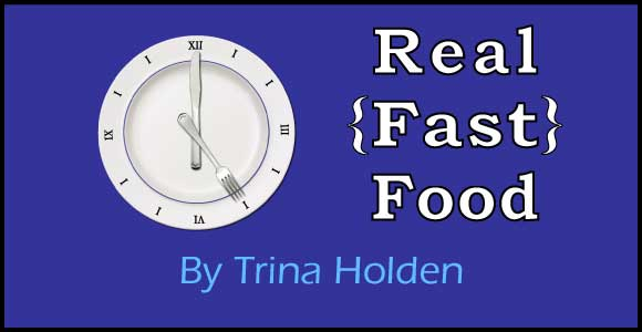 Real {Fast} Food {Book Review}