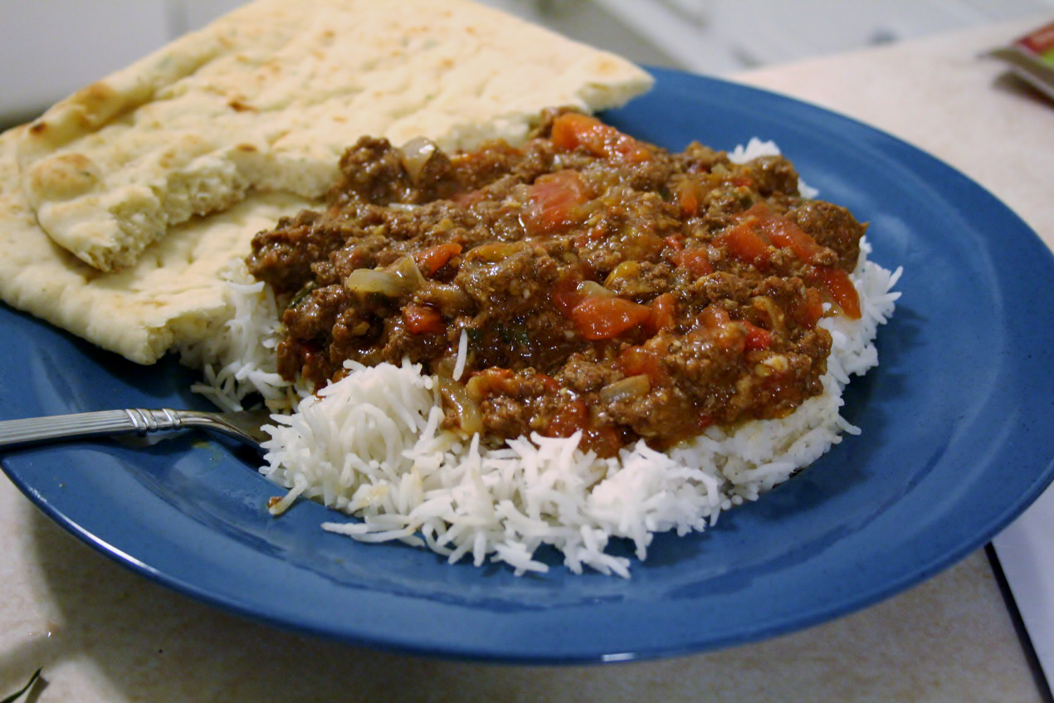 Ground Beef Curry #SundaySupper