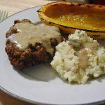Chicken Fried Steak {Dark Days Challenge}