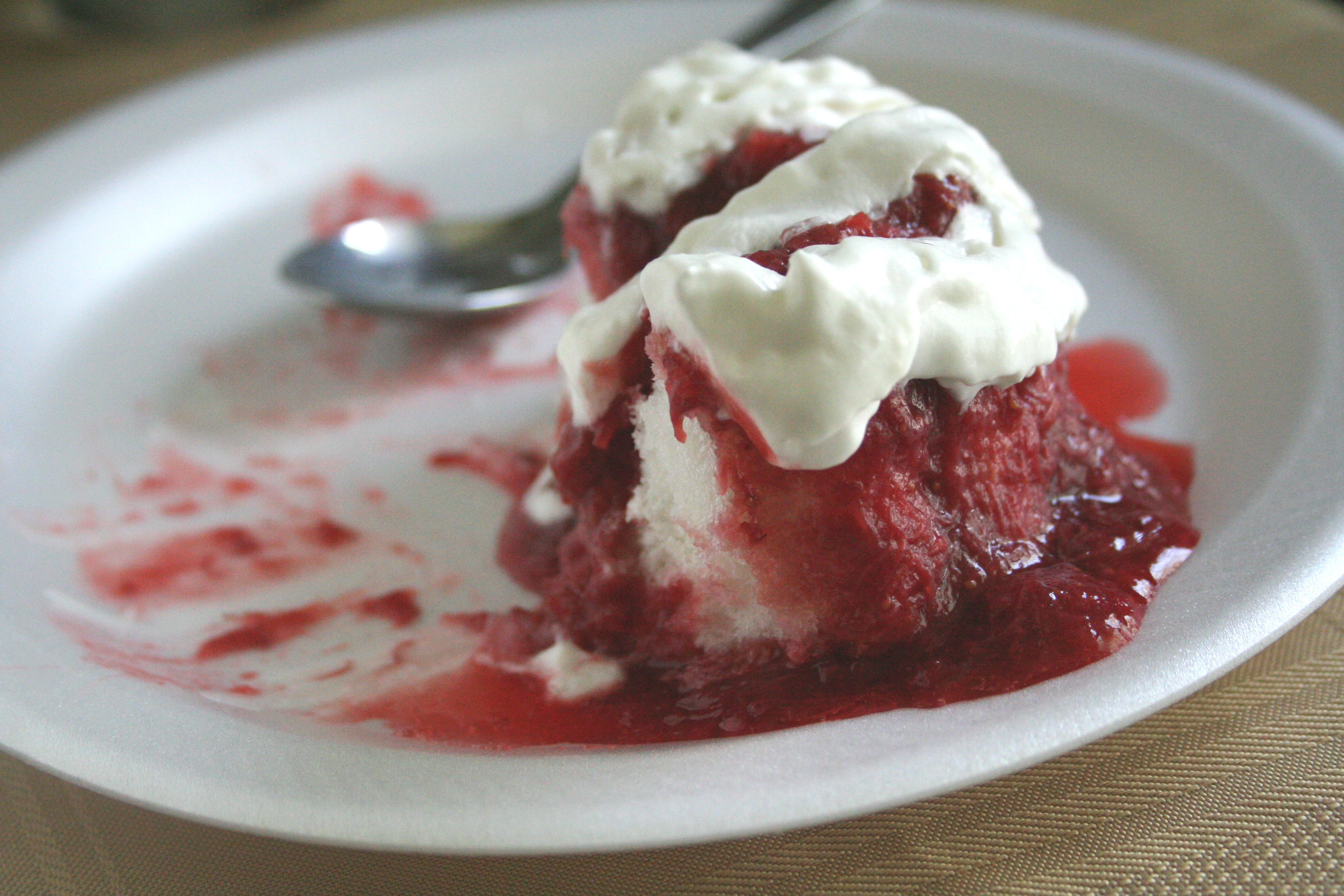 Strawberry-Rhubarb Compote #SundaySupper