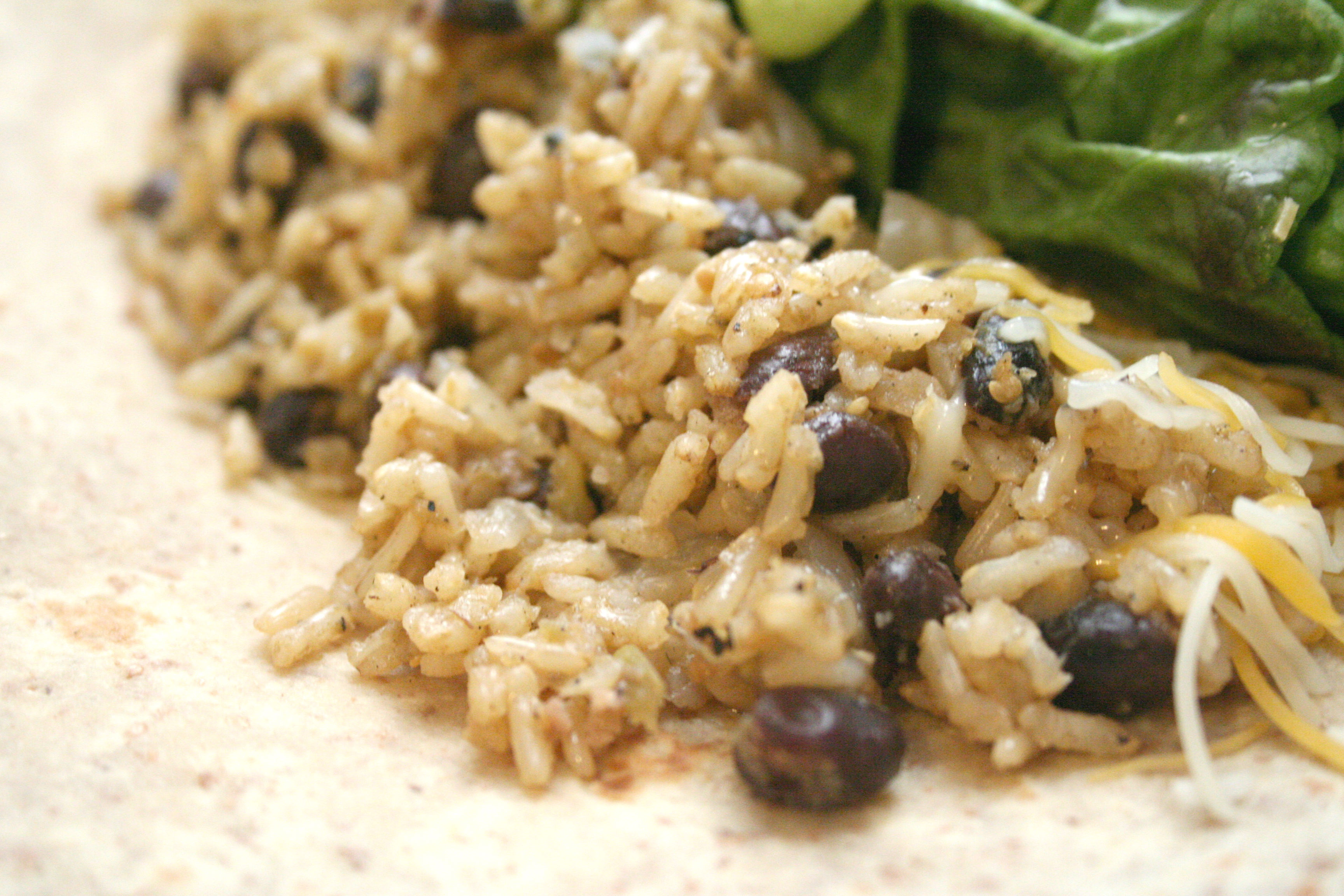 Green Rice & Black Beans
