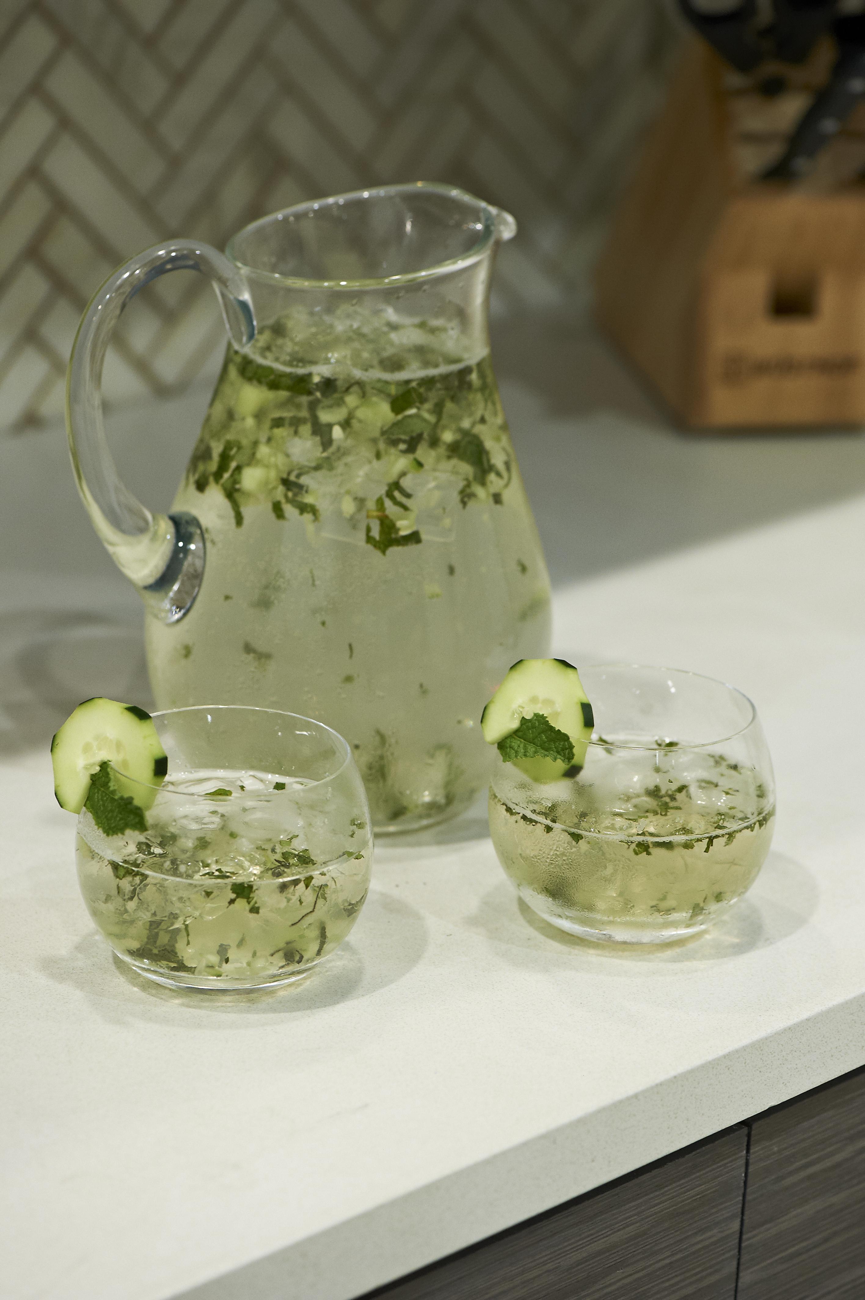 Summertime Zephyr Garden Cocktail {Plus Electrolux Sweepstakes}