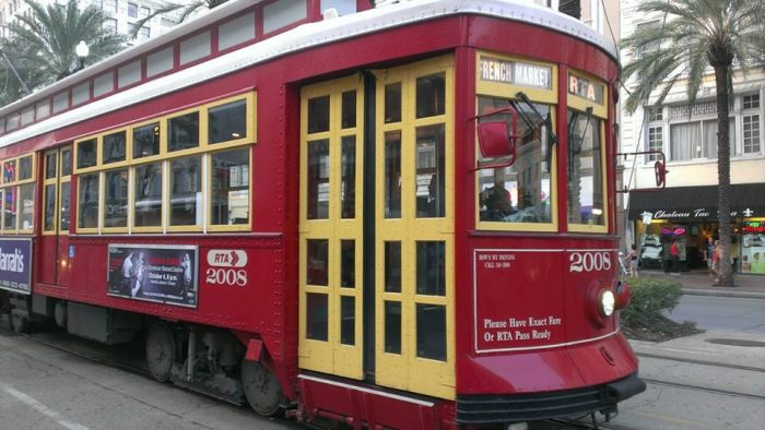 The Streetcar - only $3 for a day pass.
