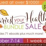 HUGE ebook Bundle Sale: Harvest Your Health