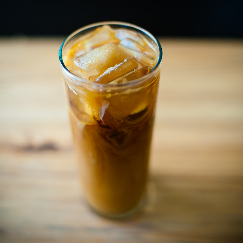 DIY Iced Coffee Protein Drink