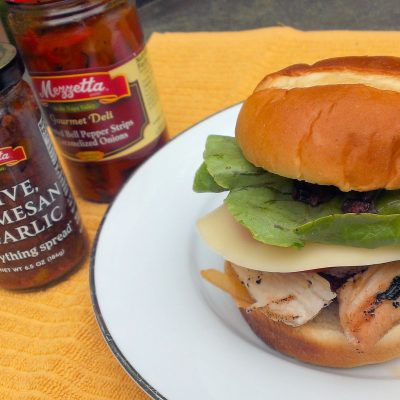 Italian Grilled Chicken Sandwich {Plus a Recipe Contest!}