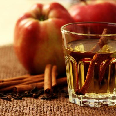 Celebrate National Organic Harvest Month with an Appletini!