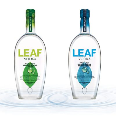 LEAF Vodka: Water really does make a difference!