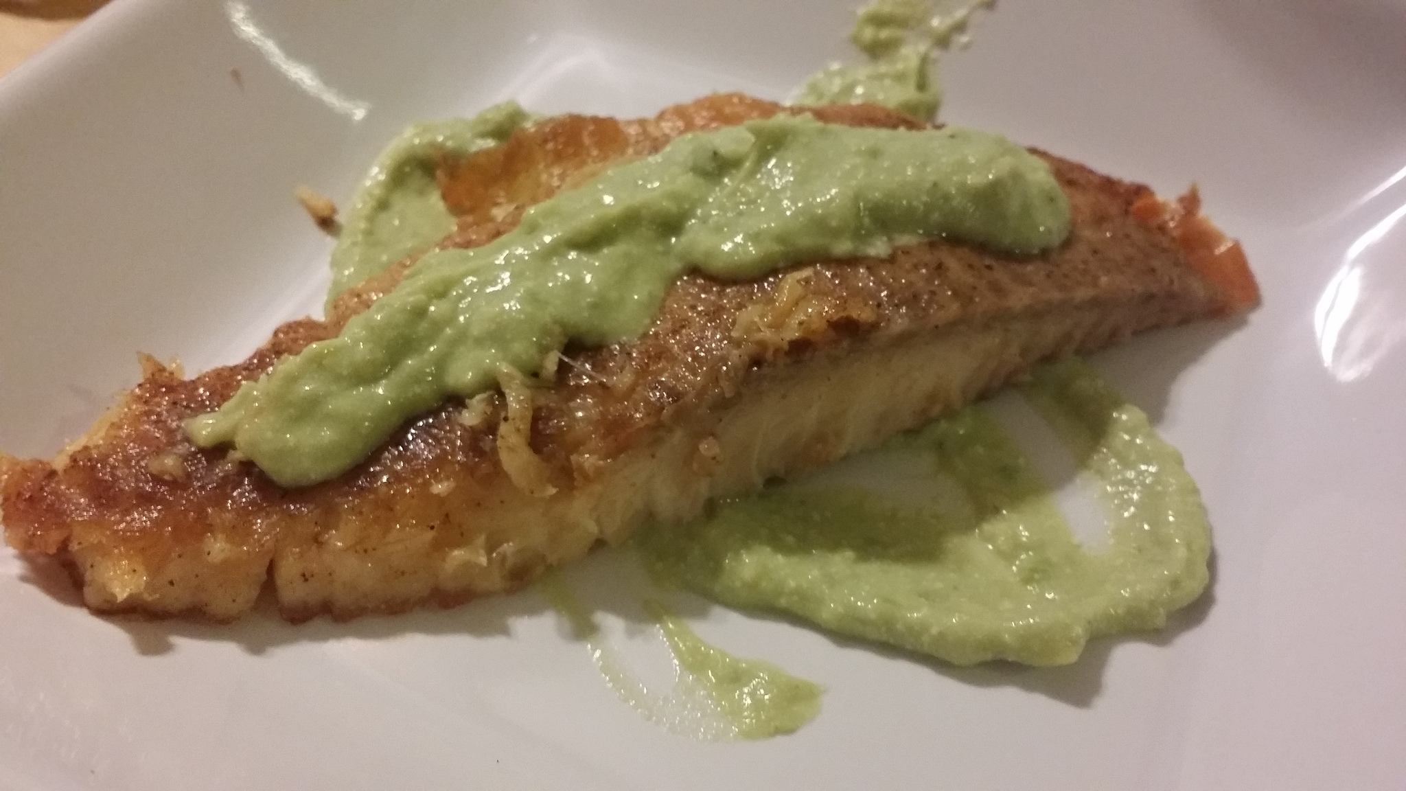 Tilapia with Avocado Aioli