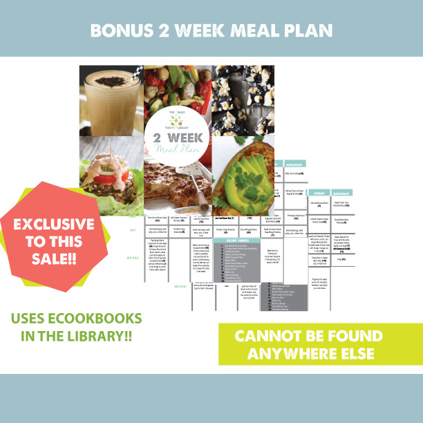 Social Media Image, Bonus 2-Week Meal Plan