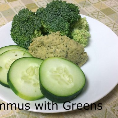 Hummus with Greens