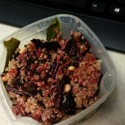 Swiss Chard Quinoa Salad