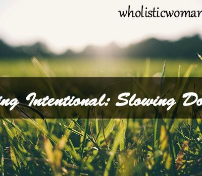 Being Intentional: New Sunday Series