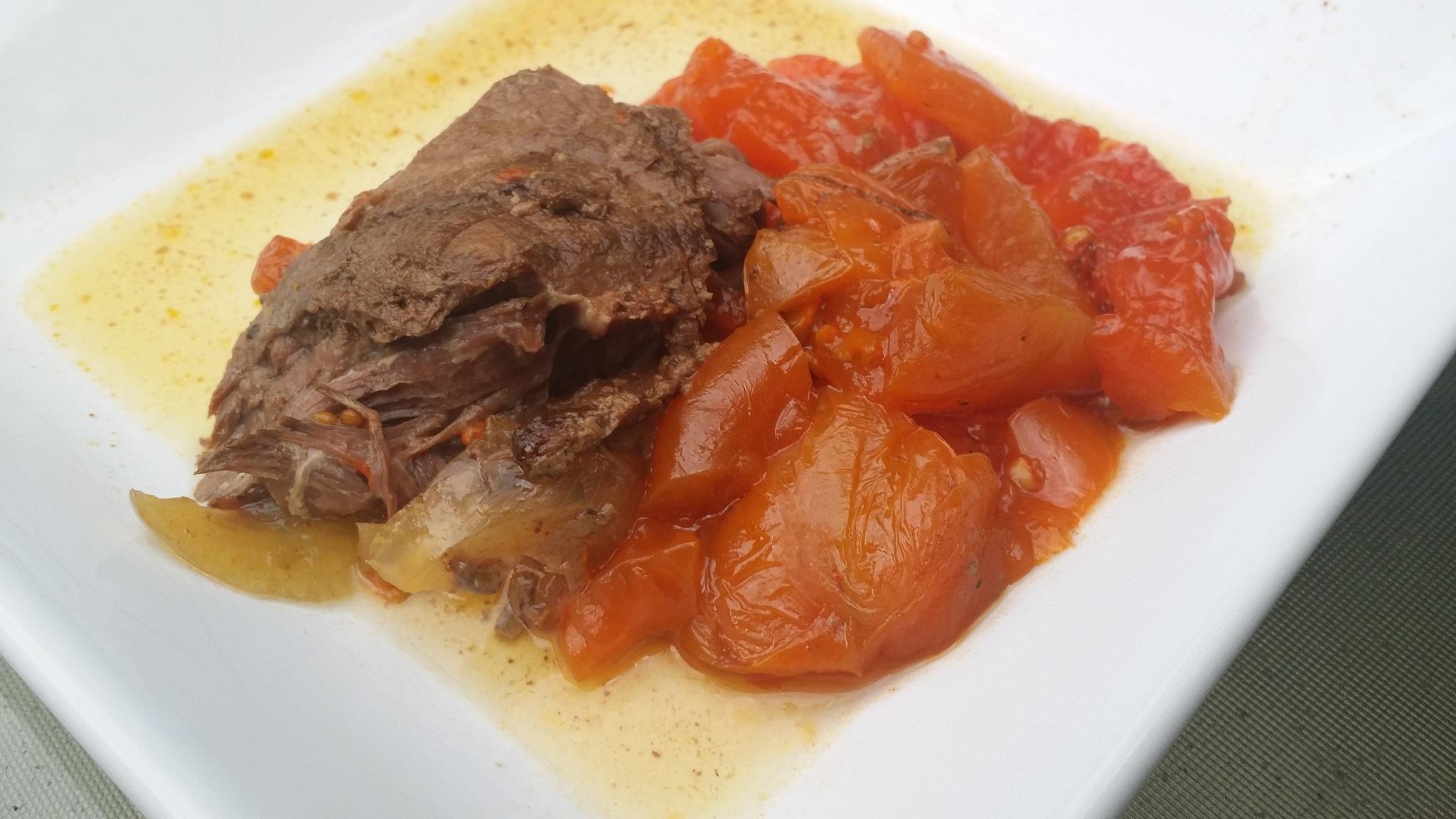 #SundaySupper Slow Cooker English Roast