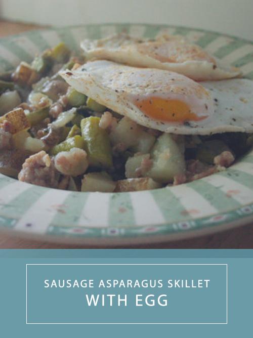 asparagusskillet