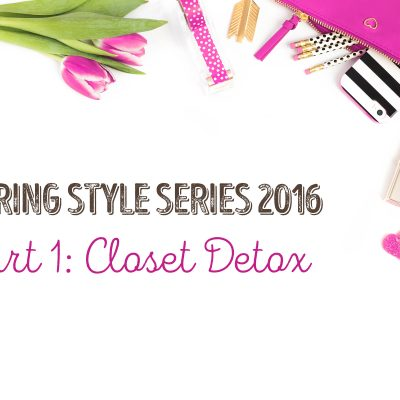 Closet Detox #AddJoy
