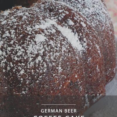 German Beer Coffee Cake #FoodieExtravaganza