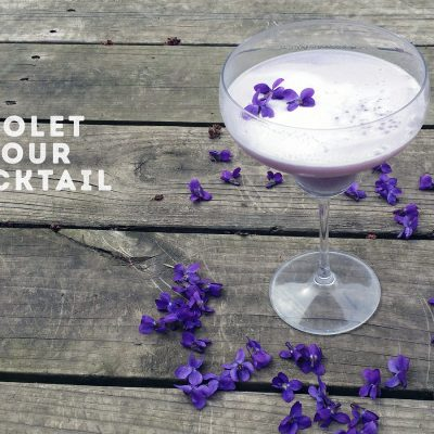Violet Hour Cocktail #SundaySupper
