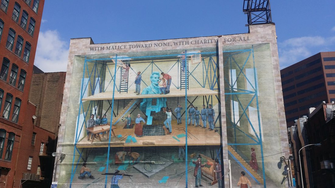 We started off by taking in a few of the murals around the city.