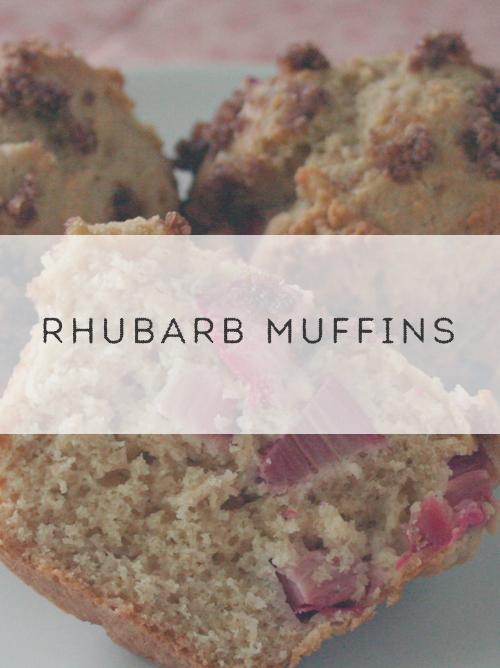 Rhubarb Muffins #SundaySupper - Wholistic Woman