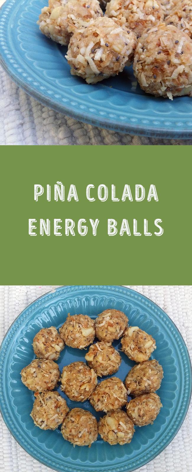 Piña Colada Energy Balls