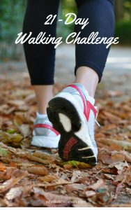 21 Day Walking Challenge