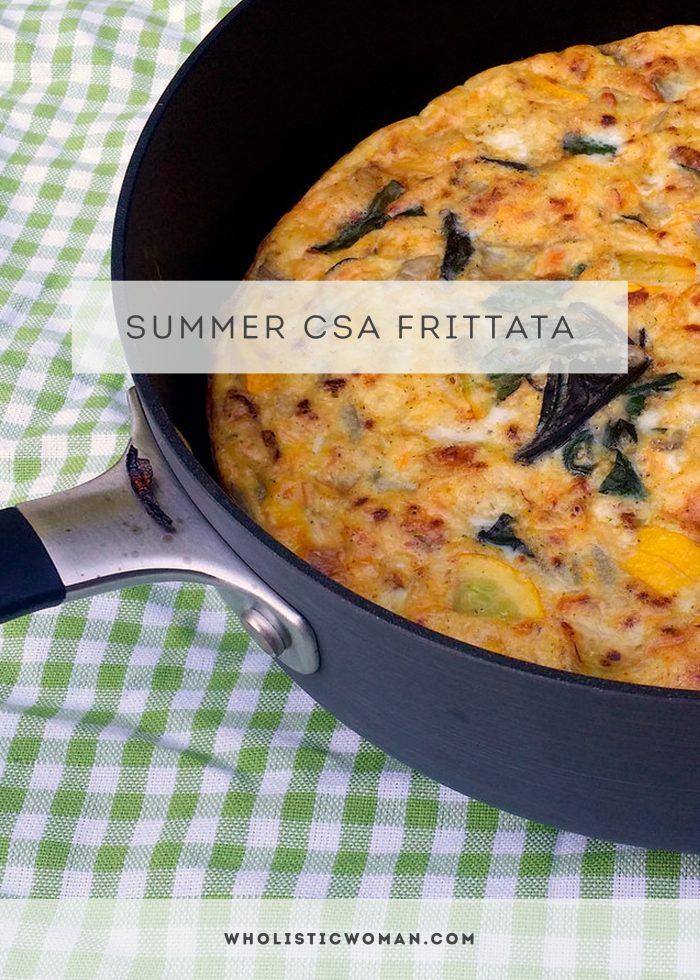 Summer CSA Frittata