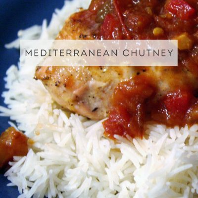 Mediterranean Chutney #SundaySupper