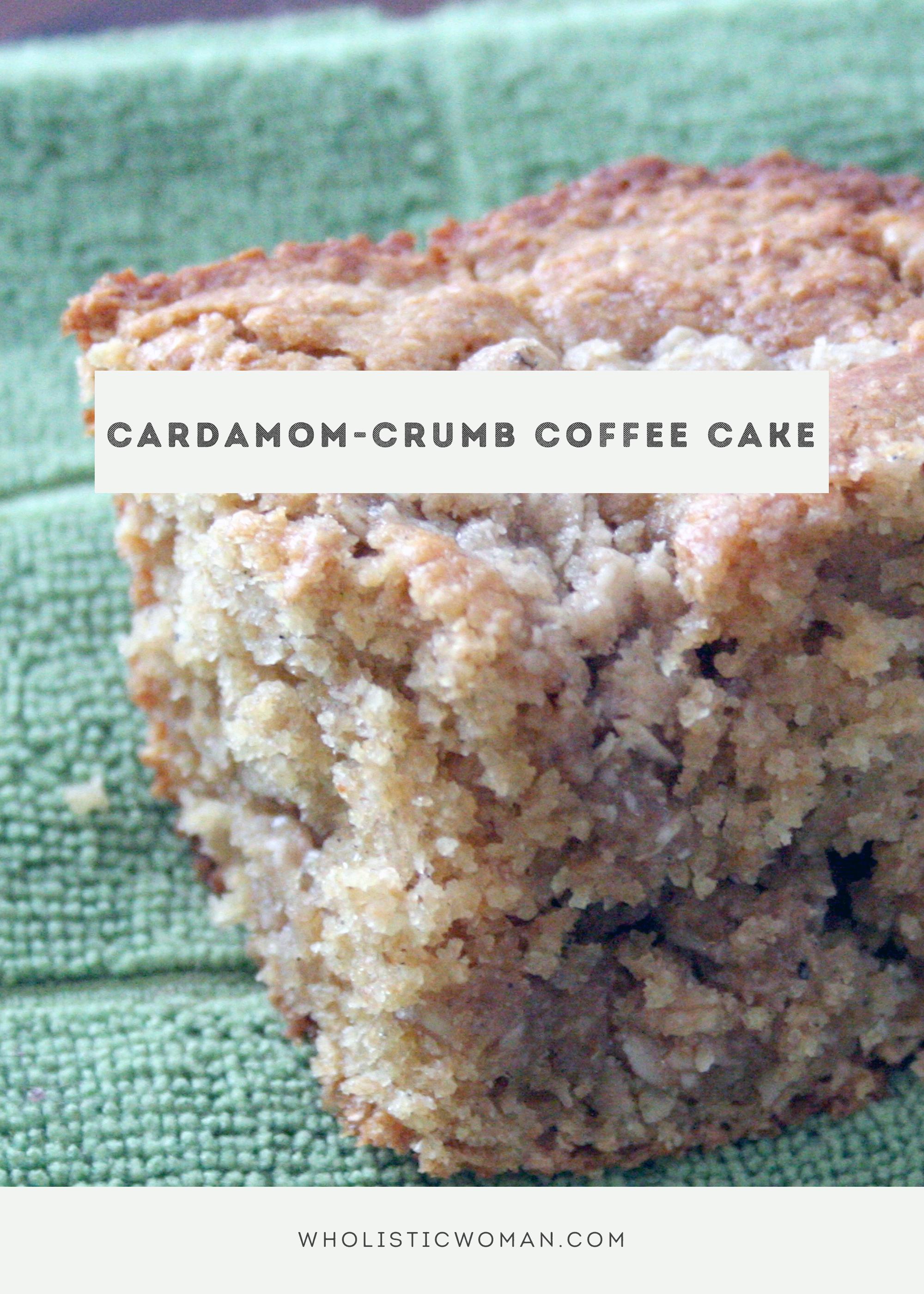 Cardamom-Crumb Coffee Cake for #SundaySupper