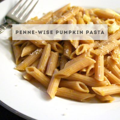 Penne-Wise Pumpkin Pasta for #SundaySupper