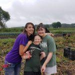Making Memories Picking Squash On the Farm