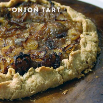 Onion Tart for #SundaySupper