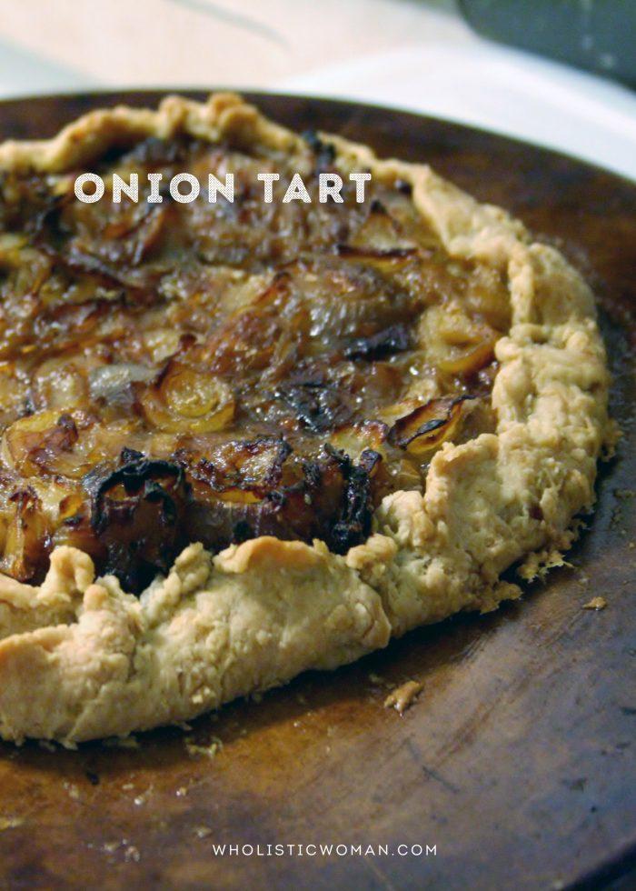 Onion Tart for #SundaySupper