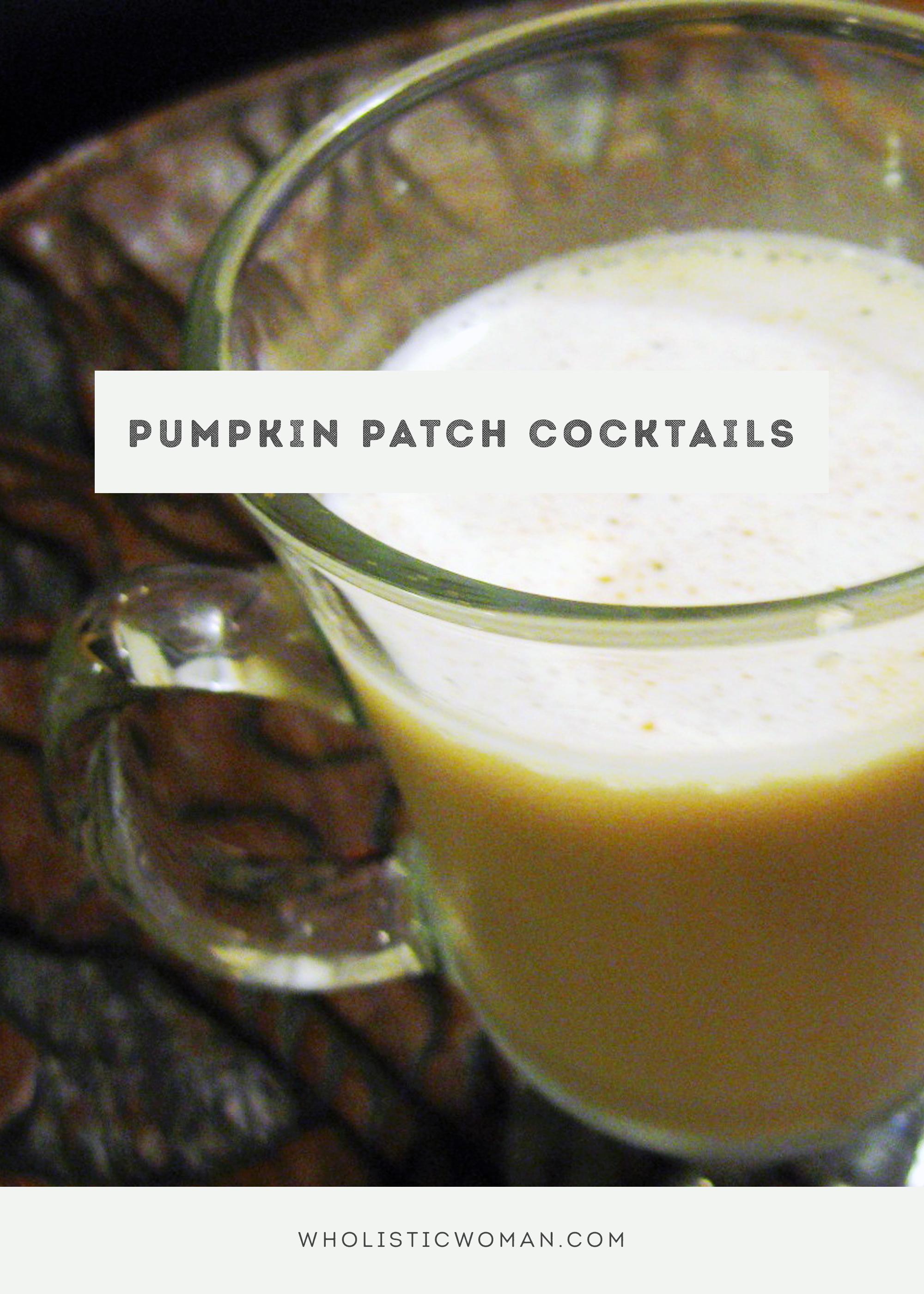 Pumpkin Patch Cocktail #SundaySupper