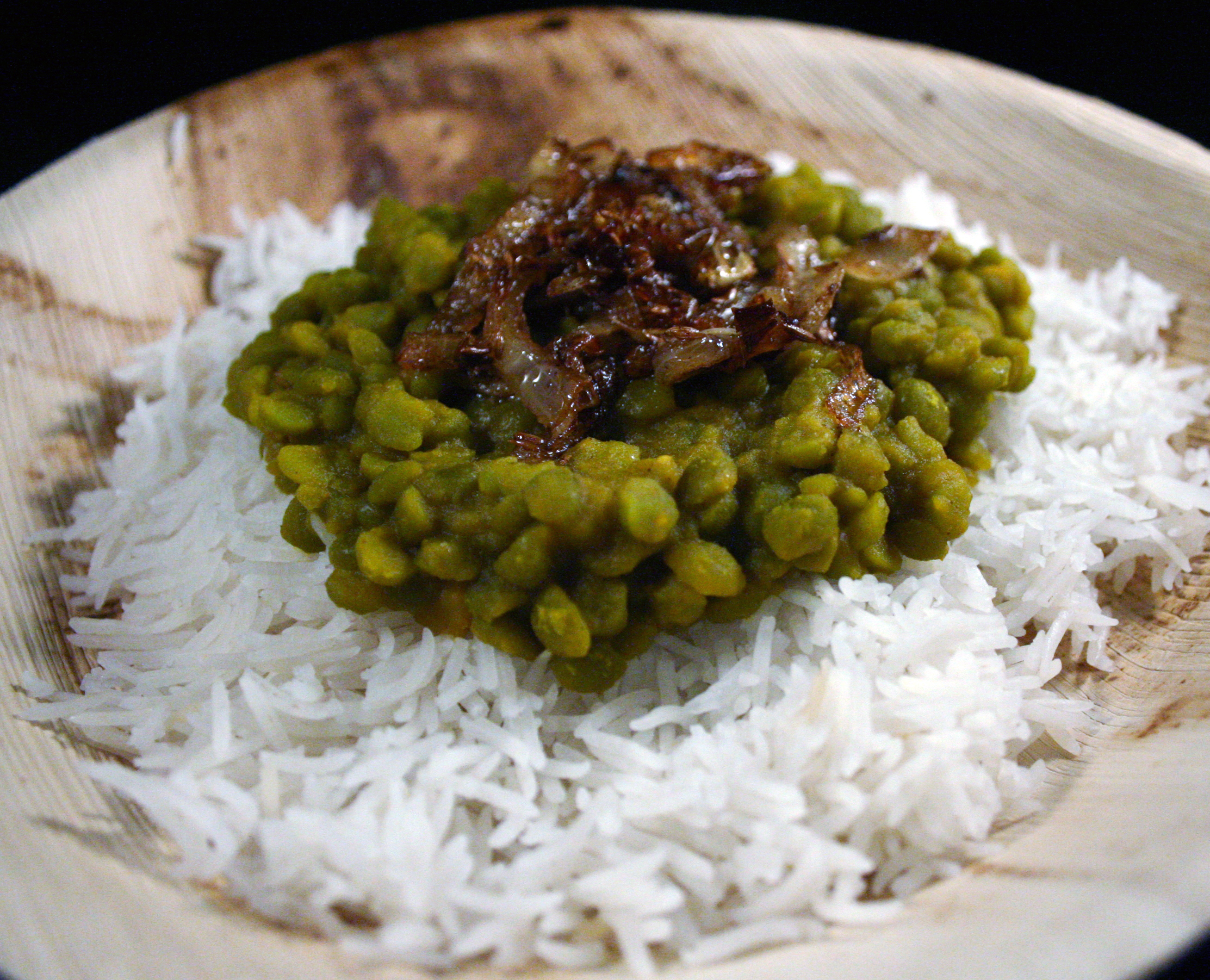 Curried Split Peas (Dhal) #SundaySupper
