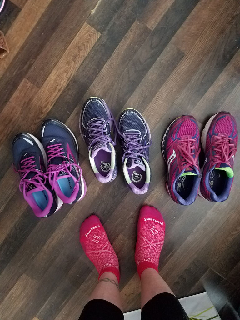 The Running Shoe Crisis Continues