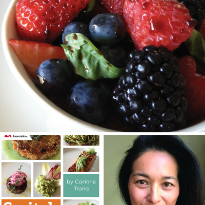 "Chef Corinne Trang says: ""Switch it up!"""
