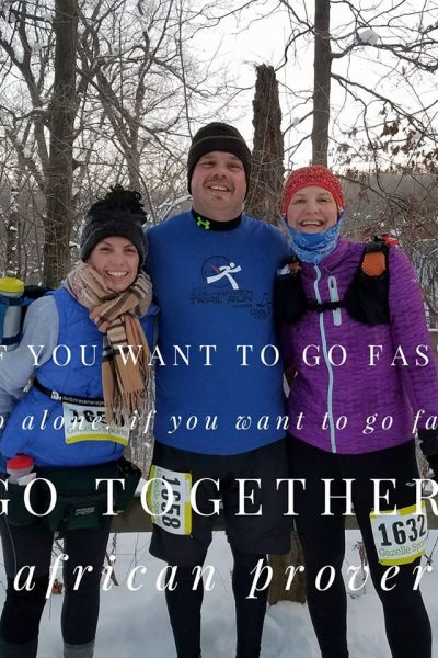 Yankee Springs Winter Challenge 50K Recap + Why I Love My Running Community